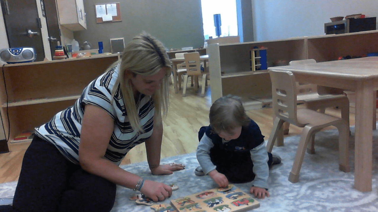 work at Montessori preschool Davie FL